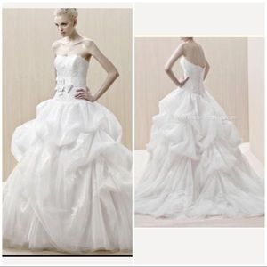 Blue by Enzoani Romantic Tulle wedding ballgown 12